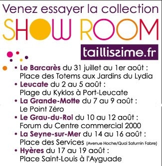 Dates et lieux showroom