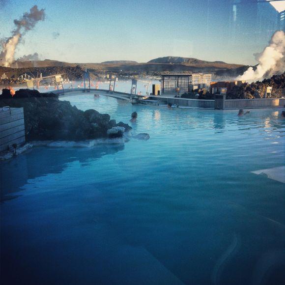 Au Blue lagoon